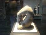 Estatuilla olmeca en el Museo de Historia y antropología de México DF