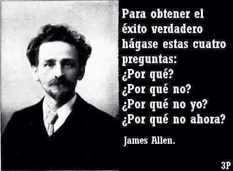 Resultado de imagen para EL HOMBRE Y EL EXITO JAMES ALLEN